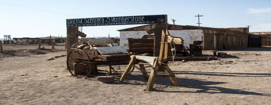 Humberstone Saltpeter Office