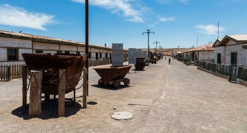 Humberstone Saltpeter Office, Iquique