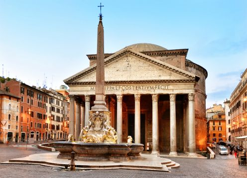 Tour do Pantheon. Roma, ITALIA