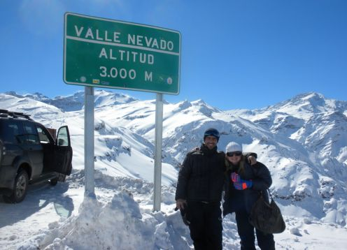 EXCURS�O VALLE NEVADO