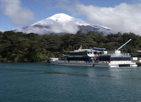TRANSFER IN + NAVEGA��O PEULLA + TOUR A CHILOE + TRANSFER OUT